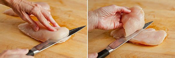 chicken-cutlets-process
