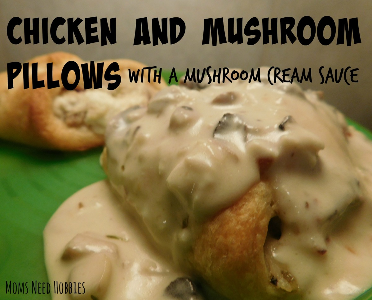 Chicken and Mushroom Pillows